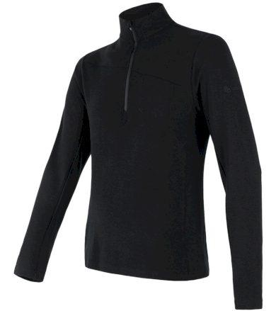 MERINO EXTREME Pánské funkční triko dlouhý rukáv 18200029 černá S