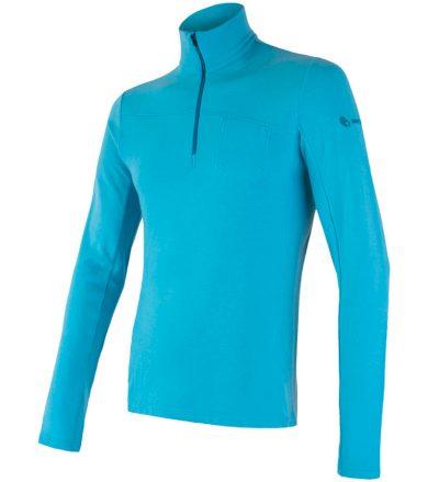 MERINO EXTREME Pánské funkční triko dlouhý rukáv 18200030 modrá XXL