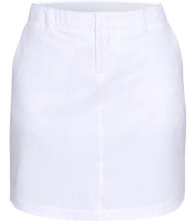 Under Armour Links Woven Skort Dámská sukně 1326929-100 White 4