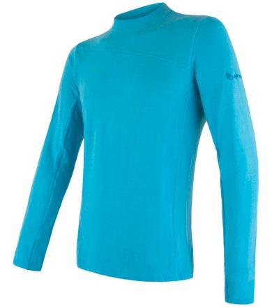 MERINO EXTREME Pánské funkční triko dlouhý rukáv 18200028 modrá M