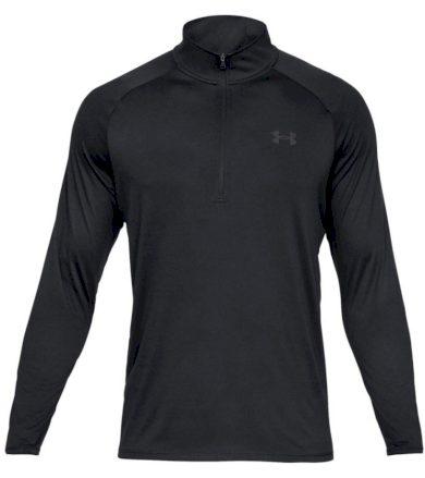 Under Armour Tech 2.0 1/2 Zip Pánské triko dlouhý rukáv 1328495-001 Black XS