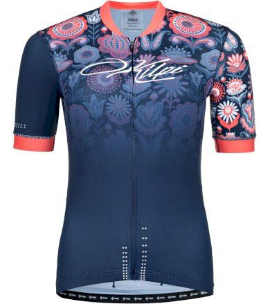 KILPI Dámský cyklistický dres ORETI-W PL0043KIDBL Tmavě modrá 34