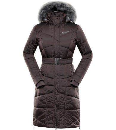 ALPINE PRO THERESE 4 Dámský zimní kabát LCTP099985 peppercorn XL