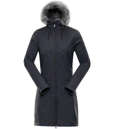 ALPINE PRO PRISCILLA 4 INS. Dámský softshellový kabát LCTP100779 tmavě šedá S