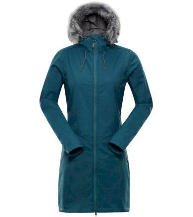ALPINE PRO PRISCILLA 4 INS. Dámský softshellový kabát LCTP100599 stínový mrak XS