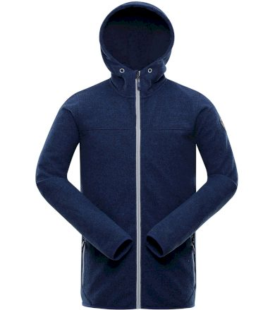 ALPINE PRO XISS Pánský svetr MPLR077677 estate blue XS
