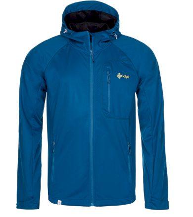 KILPI Pánská softshellová bunda ENYS-M MM0013KIDBL Tmavě modrá XS
