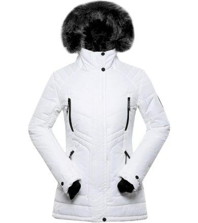 ALPINE PRO ICYBA 6 Dámská zimní bunda LJCS409000 bílá XS