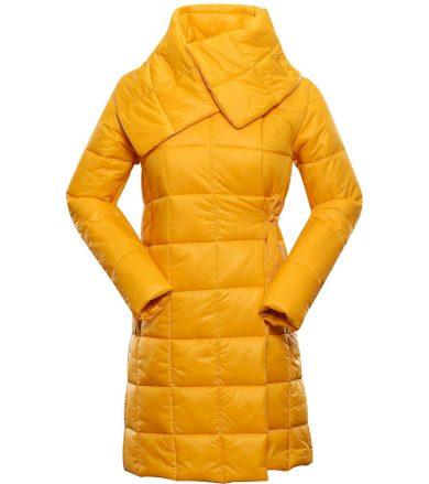 ALPINE PRO IKMA Dámský ultralehký zimní kabát LCTS132231 radiant yellow L-L
