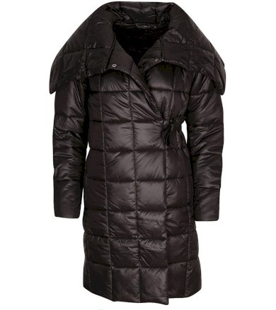 ALPINE PRO IKMA Dámský ultralehký zimní kabát LCTS132990 černá S