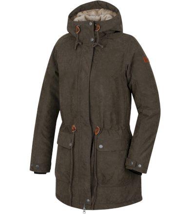 HANNAH Olowu Dámský kabát 217HH0047HJ01 Ivy green 34