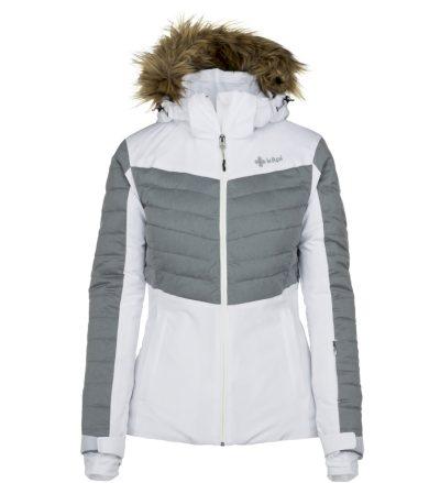 KILPI Dámská lyžařská bunda BREDA-W JL0112KIWHT Bílá 34