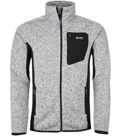 KILPI Pánský fleece svetr RIGAN-M JM0088KIWHT Bílá S