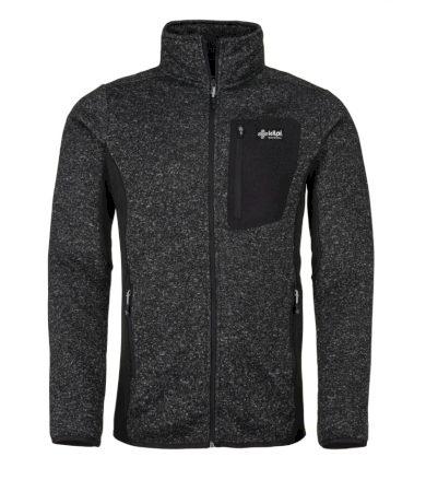 KILPI Pánský fleece svetr RIGAN-M JM0088KIDGY Tmavě šedá S