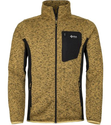 KILPI Pánský fleece svetr RIGAN-M JM0088KIYEL Žlutá XS