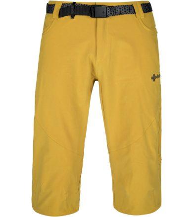 KILPI Pánské 3/4 kalhoty - větší velikosti OTARA-M KMX238KIYEL Žlutá 5XL