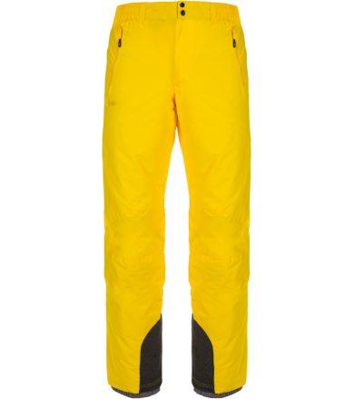 KILPI Pánské lyžařské kalhoty GABONE-M LM0047KIYEL Žlutá XS