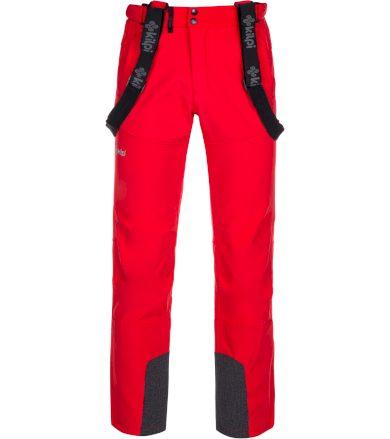KILPI Pánské lyžařské kalhoty RHEA-M LM0034KIRED Červená XS