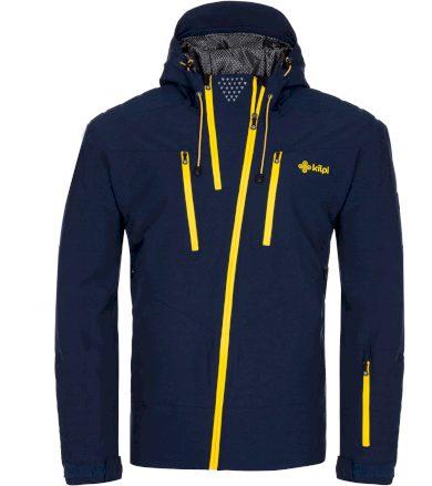 KILPI Pánská lyžařská bunda - větší velikosti THAL-M LMX020KIDBL Tmavě modrá 7XL