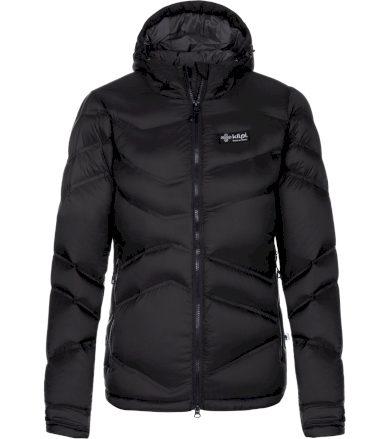 KILPI Dámská péřová bunda - větší velikosti GUUS-W LLX002KIBLK Černá 48