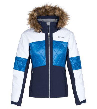 KILPI Dámská lyžařská bunda ELZA-W LL0019KIDBL Tmavě modrá 36