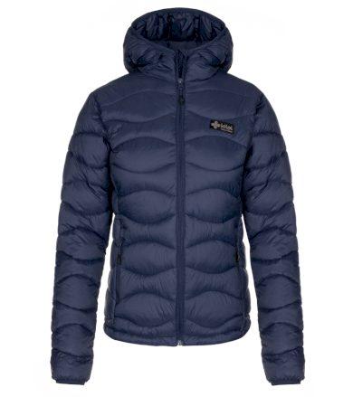 KILPI Dámská zimní bunda REBEKI-W LL0092KIDBL Tmavě modrá 36