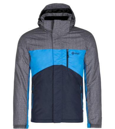 KILPI Pánská zimní bunda - větší velikosti OBER-M LMX044KIDBL Tmavě modrá 7XL