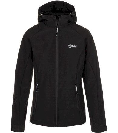 KILPI Dámská softshellová bunda MILA-W LL0104KIBLK Černá 34