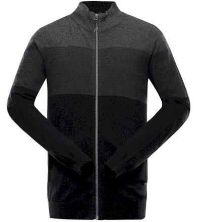 ALPINE PRO NIFF Pánský svetr MPLS083990 černá XS