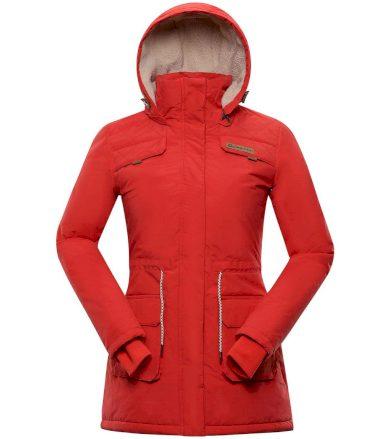 ALPINE PRO EDITE 5 Dámský kabát LCTS103408 paprikově červená XS