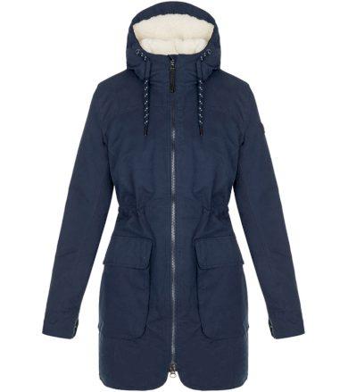 LOAP NATALI Dámský zimní kabát CLW20101M37R Black Iris / Brown XS
