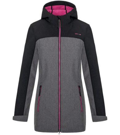 LOAP LYANA Dámský softshellový kabát SFW2018V24XJ Tap Shoe Melange / Pink XS