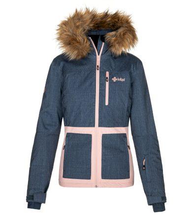 KILPI Dámská lyžařská bunda TESSA-W NL0015KIDBL Tmavě modrá 34