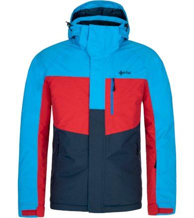 KILPI Pánská lyžařská bunda OBER-M NM0037KIDBL Tmavě modrá 3XL