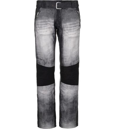 KILPI Dámské lyžařské kalhoty - větší velikosti JEANSO-W NLX079KIBLK Černá 48