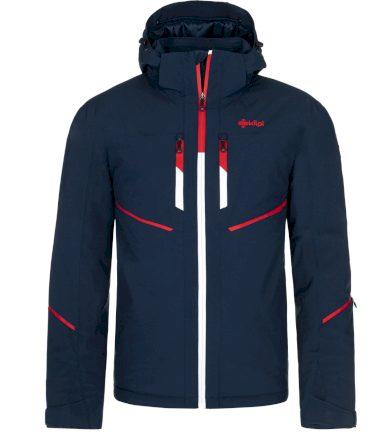 KILPI Pánská lyžařská bunda - větší velikosti TONN-M NMX025KIDBL Tmavě modrá 7XL
