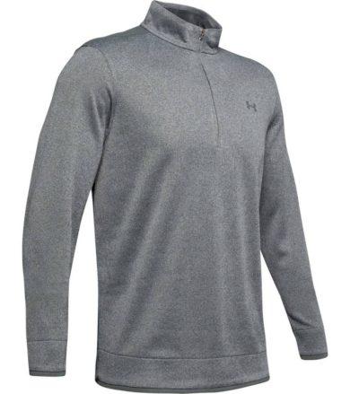 Under Armour SweaterFleece 1/2 Zip Pánský fleece svetr 1345464-012 Black M