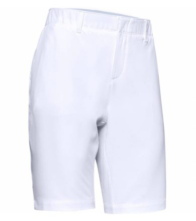 Under Armour Links Short Dámské sportovní kraťasy 1355498-100 White 6