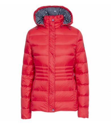 HAYLING Dámská péřová bunda FAJKDOTR0008-RED RED L