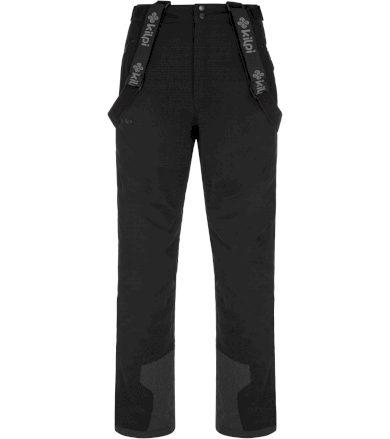 KILPI Pánské lyžařské kalhoty - větší velikosti REDDY-M NMX021KIBLK Černá 5XL