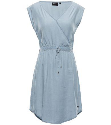 ALPINE PRO LANA Dámské šaty LSKT286698 Blue bell XL