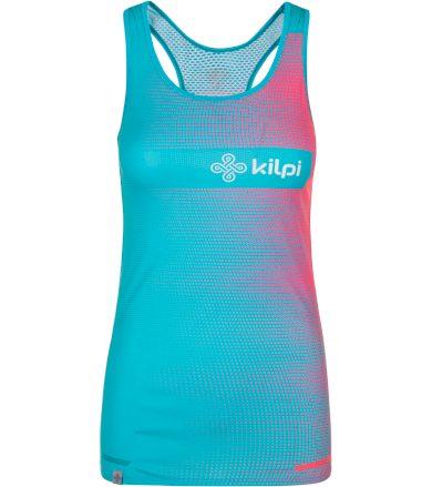 KILPI Dámské týmové běžecké tílko EMILIO-W PL0072KIBLU Modrá 34