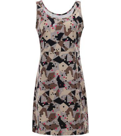 ALPINE PRO ELANDA 4 Dámské šaty LSKT285118PC Simply taupe XS