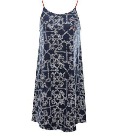 ALPINE PRO MARRKA Dámské šaty LSKT290602PC mood indigo M