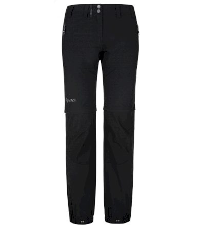 KILPI Dámské outdoorové kalhoty HOSIO-W PL0024KIBLK Černá 38