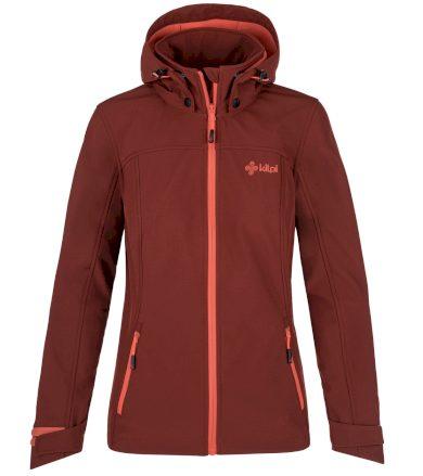 KILPI Dámská softshellová bunda - větší velikosti RAVIA-W PLX035KIDRD Červená 50