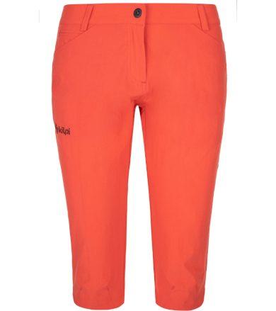 KILPI Dámské outdoorové 3/4 kalhoty - větší velikosti TRENTA-W PLX033KICOR korálová 48