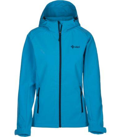 KILPI Dámská softshellová bunda ELIA IL0027KILBL Bílo/Modrá 34