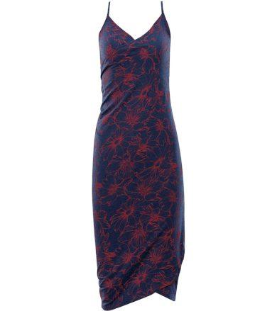 ALPINE PRO YARA Dámské plážové šaty LSKR223677PD estate blue XS