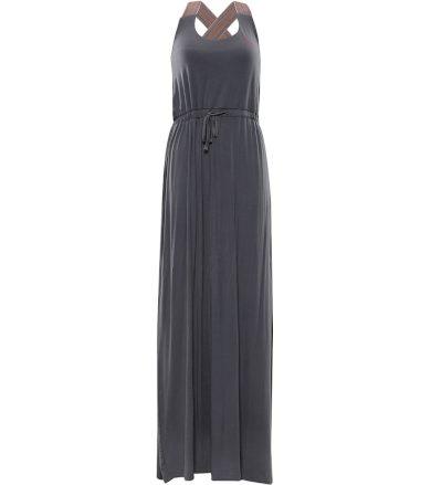 ALPINE PRO ZELDA Dámské šaty LSKR224770 šedá XS